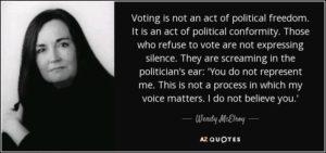 voluntaryism wendy mcelroy
